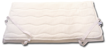 Matracový chránič změkčí povrch matrace
