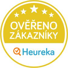 zlaté logo Heureka od spokojených zákazníků pro i-matrace.cz