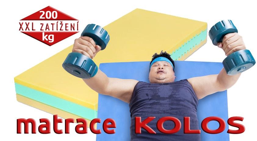Matrace Kolos - matrace pro maximální zátěž