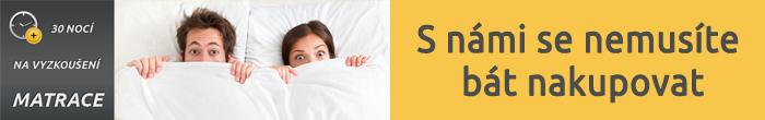 30 nocí na vyzkoušení matrace