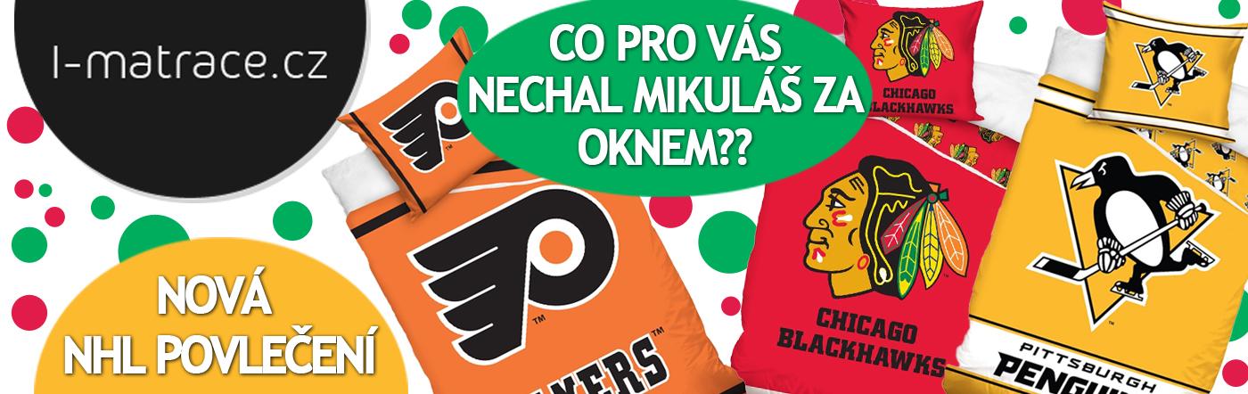 Nová NHL povlečení právě teď v prodeji!