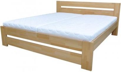Dřevěná postel Nora