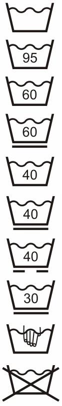 Symboly praní