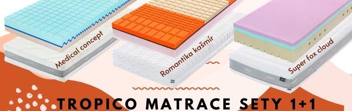 Matrace Tropico v setu 1 1.